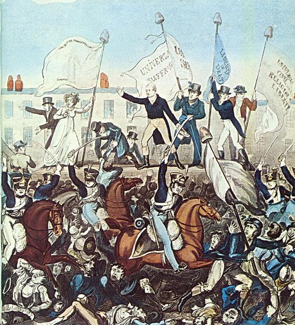 Mike Leigh, Peterloo Massacre, Manchester