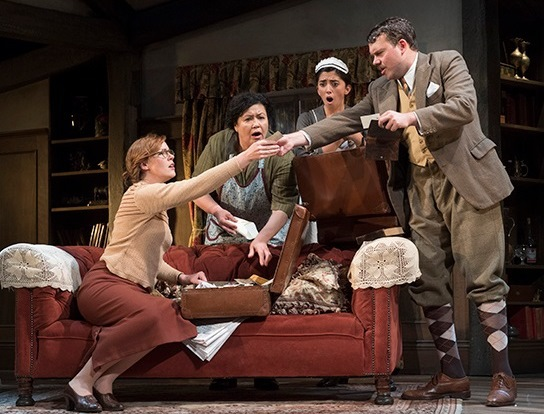 Night Must Fall, uk tour theatre review, malvern theatres, murder mystery