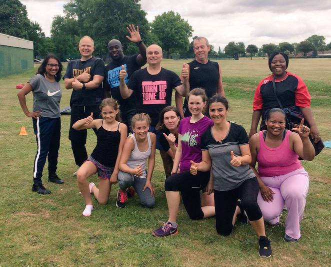 ourparks, bootcamp, HIIT, fitness, class, London, free