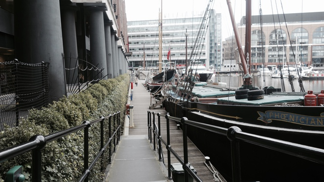 St Katherine's Dock, London, Marina