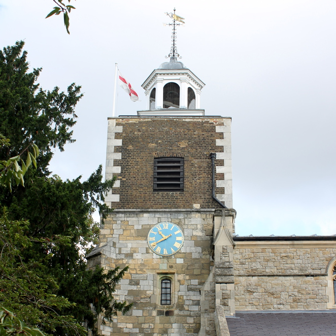 St Mary's church, mortlake, climb the tower