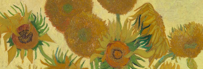 the sunflowers, vincent van gogh