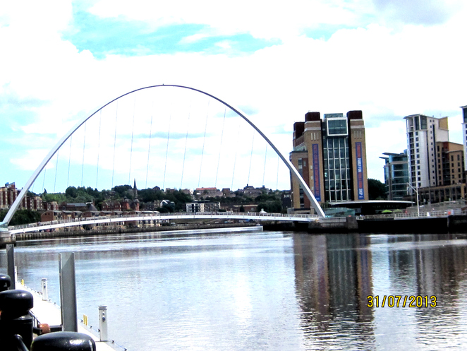 The Tyne the Baltic and Millennium Bridge