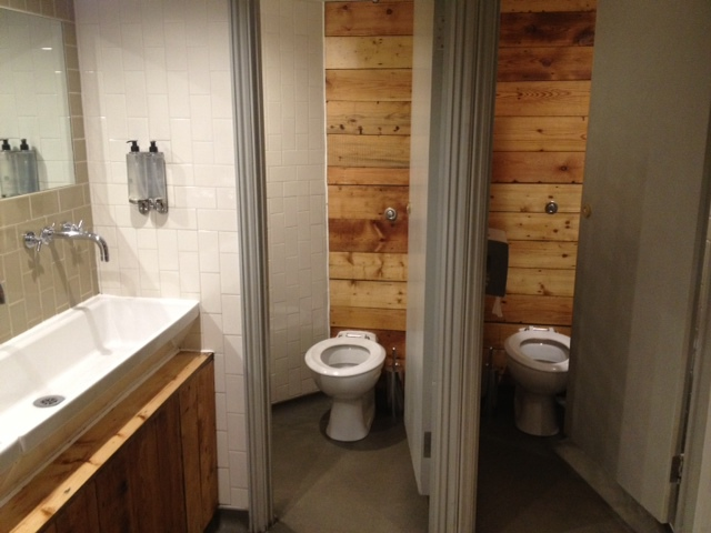 toilet, wood, London