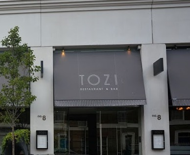 Tozi Italian, Italian restaurants London, Best london restaurants, TOZI