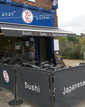 yo yo kitchen, sushi, London, West Acton, Japanese Deli