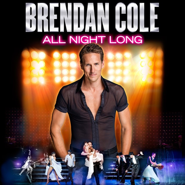 Brendan cole, all night long, theatre tour, strictly come dancing star