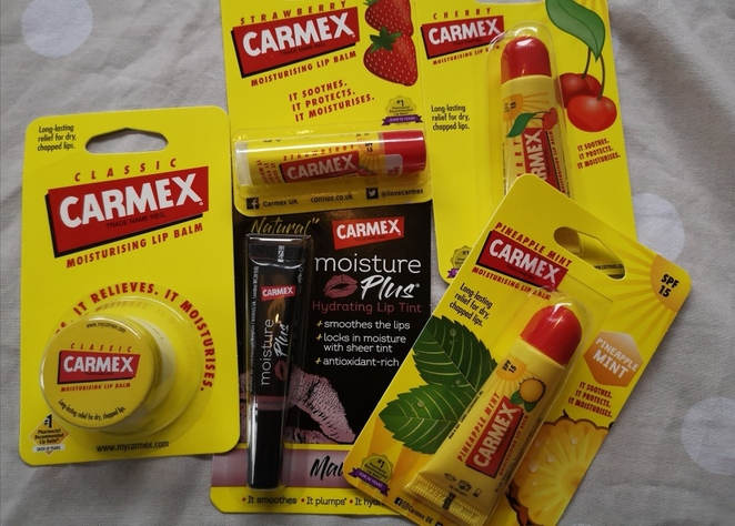 carmex, lips, health and beauty out of lockdown, alison brinkworth photo
