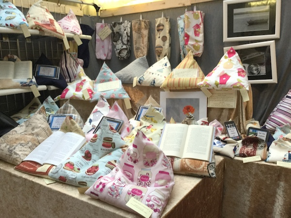 eden crafts, market, kingston, christmas, book pillow, book holder
