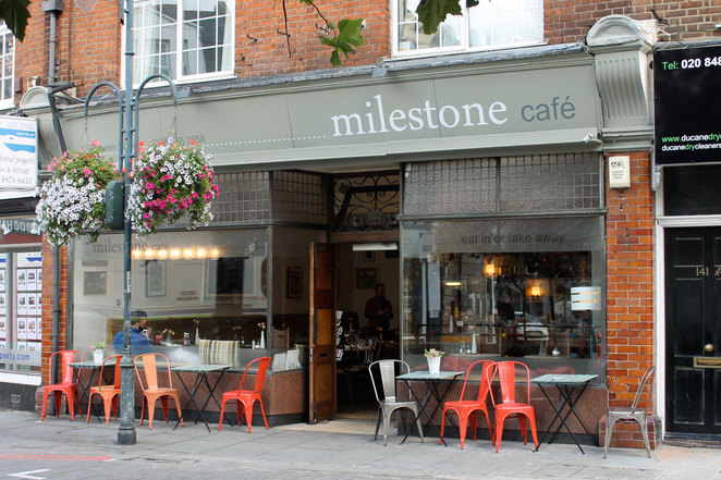Milestone Cafe, East Sheen