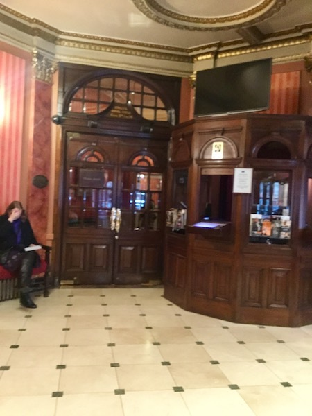 Noel Coward Theatre, Leicester Square, foyer