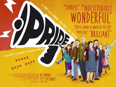 Pride - the film that was inspired by the the Lesbians and Gays Support the Miners