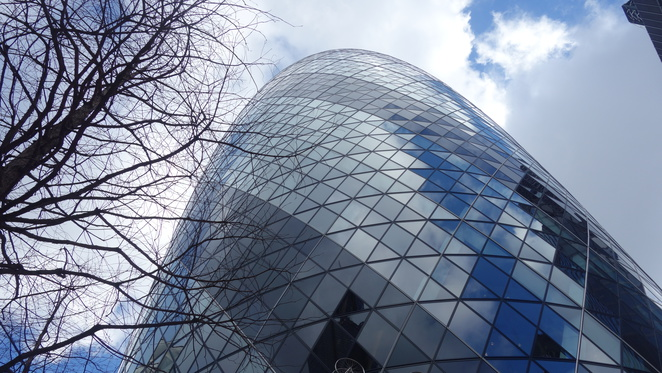 The Gherkin, London, architecture