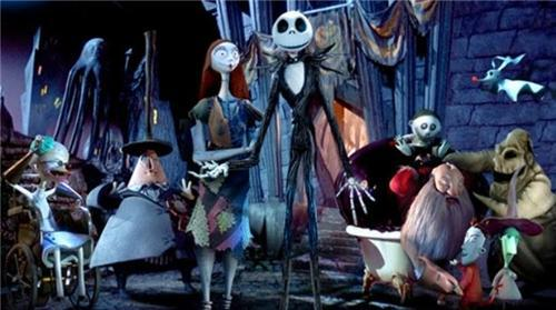 The Nightmare Before Christmas, Christmas films, Giant Screen, Millennium Point Birmingham