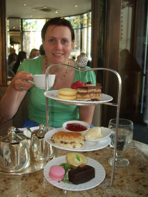 Afternoon tea at Betty's