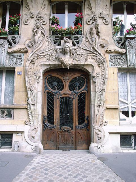 art nouveau places to visit, paris,