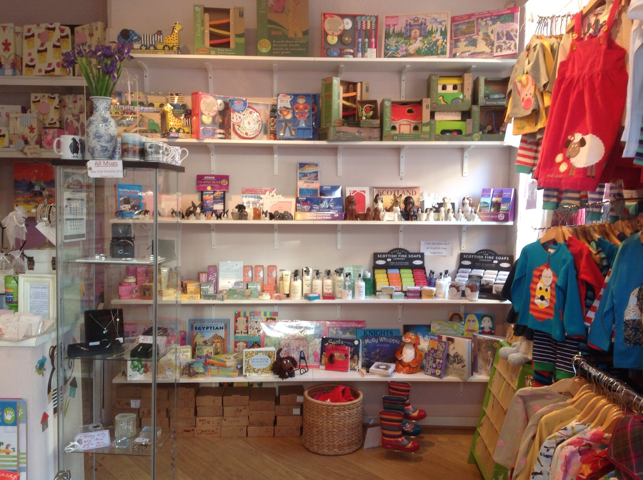 Bliss Gift Shop Edinburgh