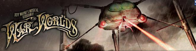 Jeff Wayne's musical version of War of the Worlds final UK arena tour