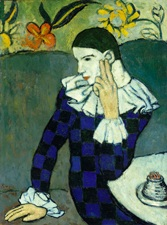 Picasso: Leaning Harlequin