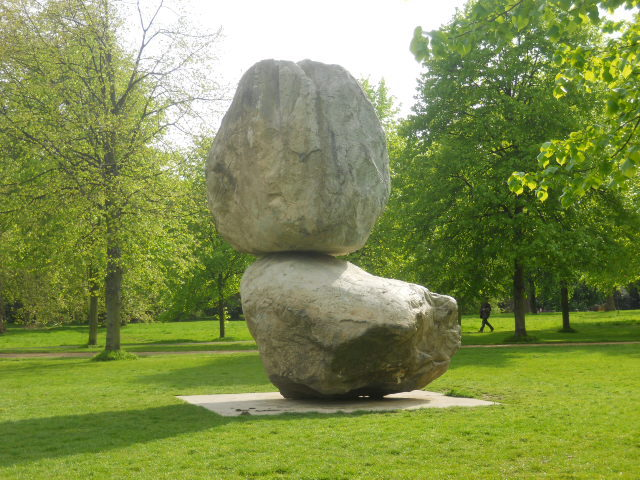 serpentine gallery, kensington gardens, Rock on Top of Another Rock, Peter Fischli, David Weiss