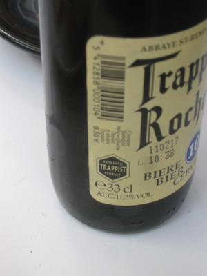 Trappistes Rochefort beer Cafe Oto