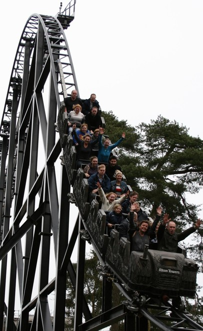 Alton Towers, Thi3teen, rollercoaster
