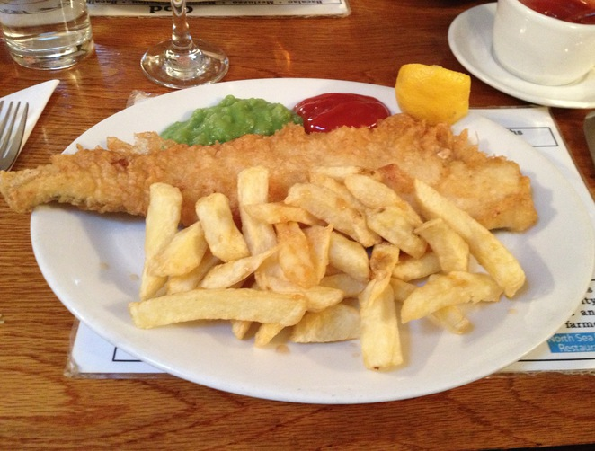 Haddock, North Sea Fish Restaurant