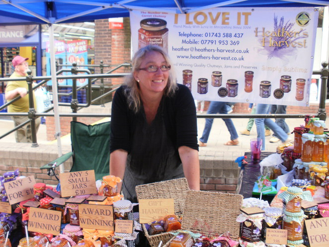 Heather's Harvest, chutney, Lichfield Food Festival