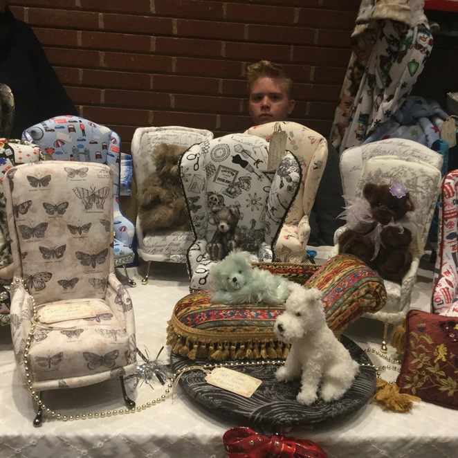 hugglets, teddies, winter fest, monton bears, phyll's bear chairs