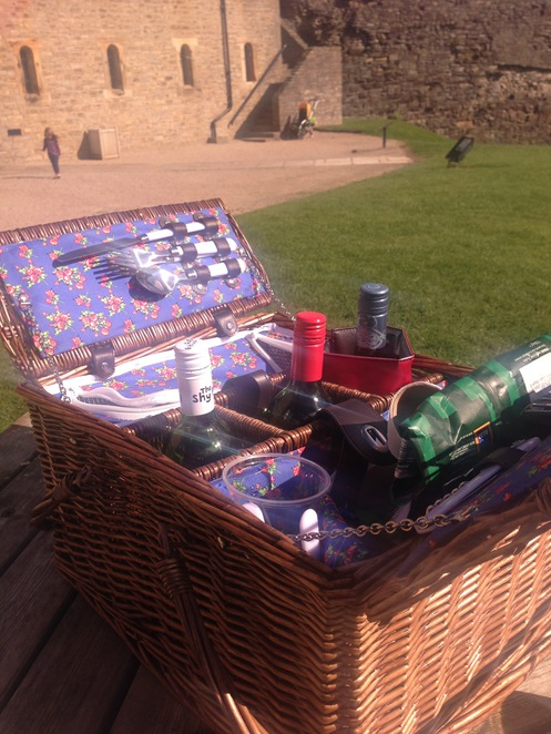 Picnic Hamper Richmond Castle
