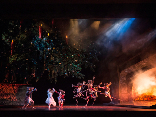The Nutcracker, Birmingham royal ballet, Birmingham Hippodrome