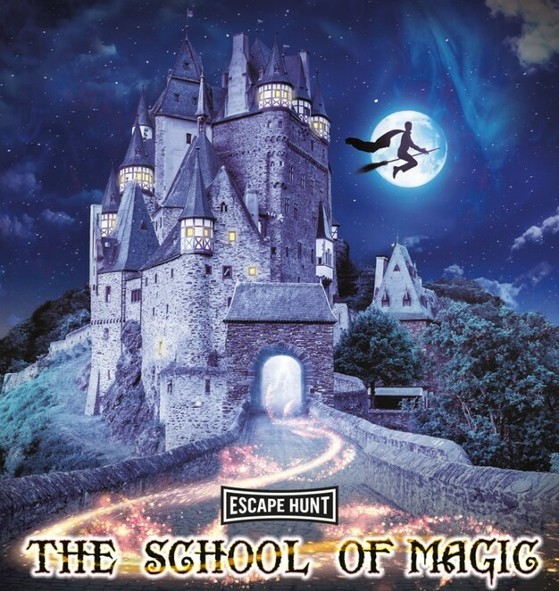 The school of magic, escape hunt, play at home adventure game