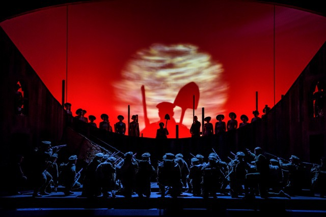 Welsh National Opera, summer season, in parenthesis, Cavalleria rusticana & Pagliacci, world war one anniversary, WNO, Birmingham Hippodrome