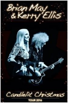 Brian May, Kerry Ellis, Adam Lambert, Queen, Christmas Candlelight Tour, Leeds Grand Theatre, Manchester Bridgewater Hall, Anthems, Musical Theatre