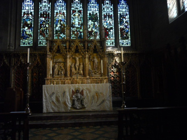 croydon Minster, church, high altar