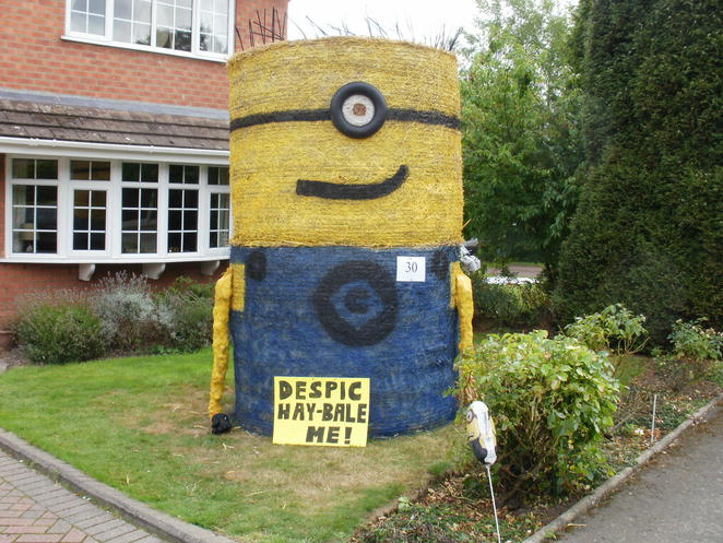 Elford Scarecrow Festival, Elford, scarecrows, Despicable Me