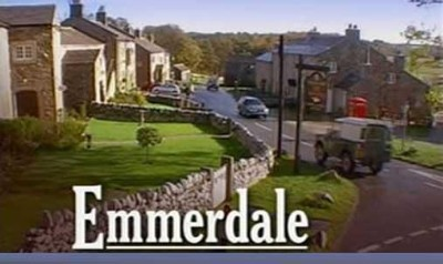 Emmerdale with logo
