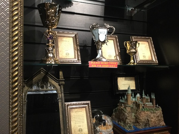 house of spells, Harry Potter, prop replicas
