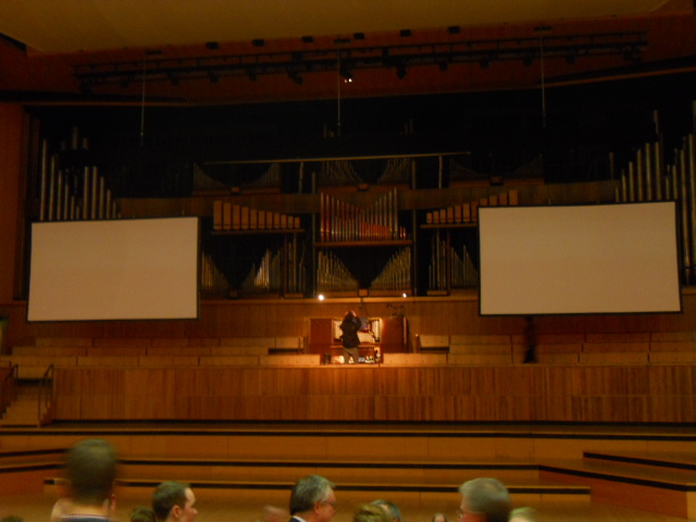royal Festival Hall, pull out all the stops, organ