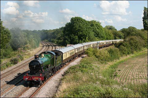 the shakespeare express, vintage trains, steam train