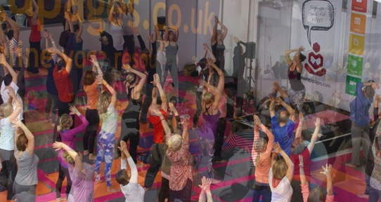 the yoga show, earls court