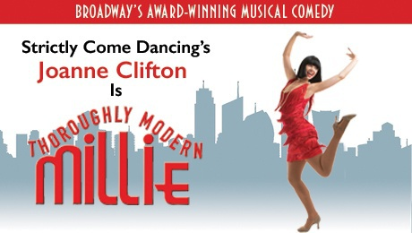 Thoroughly Modern Millie, Joanne Clifton, theatre tour UK, where to see Strictly stars