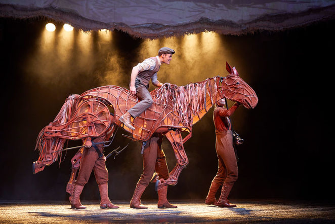 War horse, Birmingham hippodrome, review, half term