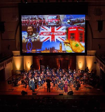 Band of the Royal Air Force College, Squadron Leader Matt Little, Best of British, Symphony Hall Birmingham, Alan Dedicoat