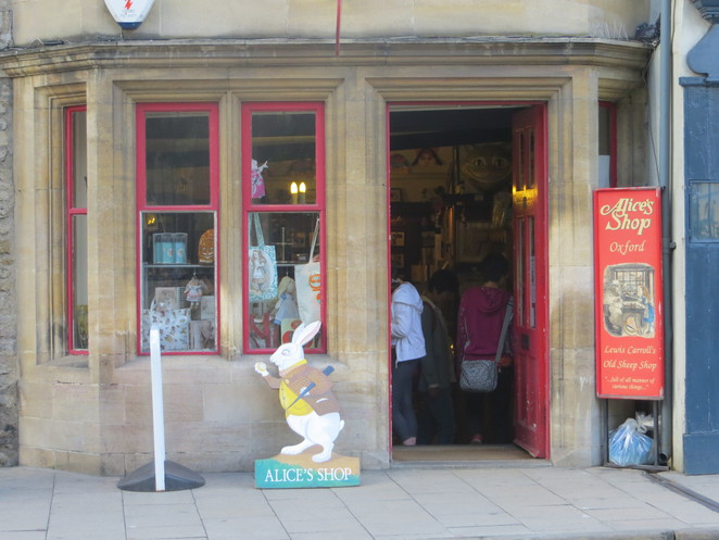 alice, wonderland, shop, oxford
