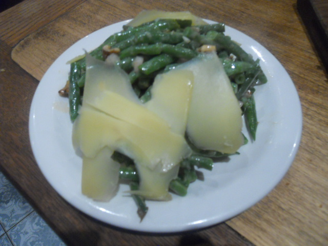 blanchette, french cuisine, restaurant, french restaurant, soho,green bean salad