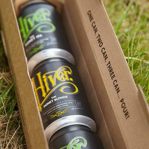 hiver beers, christmas food and drink, artisan, small businesses
