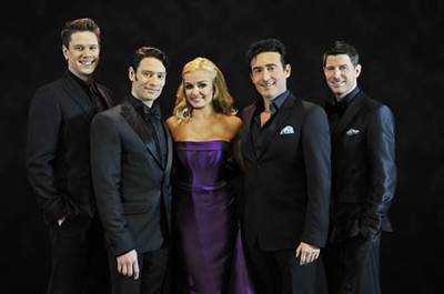 Katherine Jenkins and Il Divo