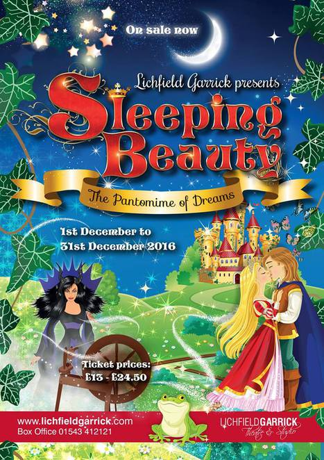 Lichfield Garrick, Sleeping Beauty