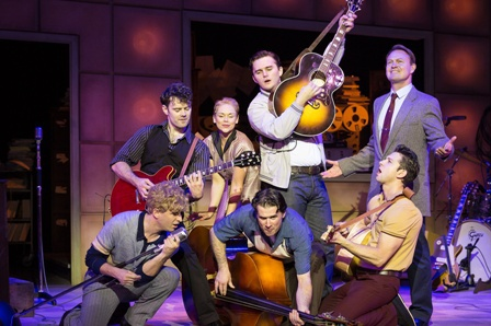 Million Dollar Quartet, Elvis Presley, Johnny Cash, Carl Perkins, Jerry Lee Lewis, Sam Phillips, Sun Records, Birmingham Hippodrome, Theatre Review